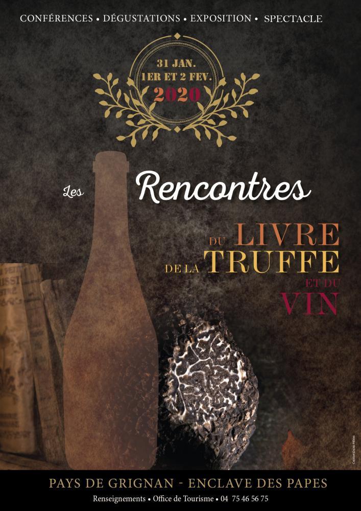 Les 10e Rencontres Du Livre De La Truffe Et Du Vin Rltv
